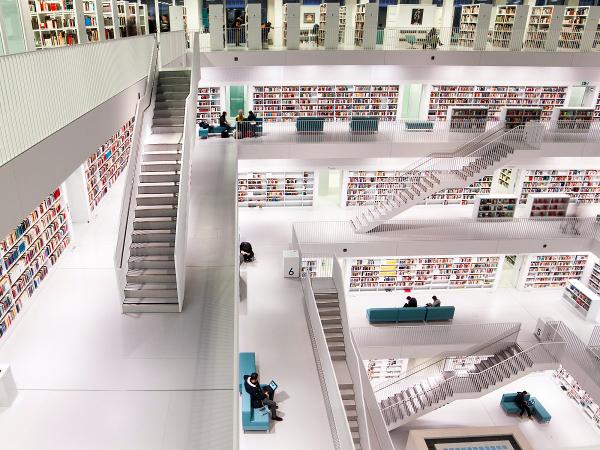 The Stuttgart City Library, Stuttgart