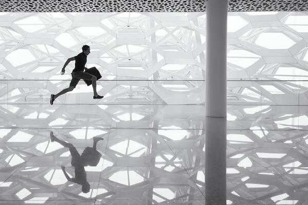 blog image man running