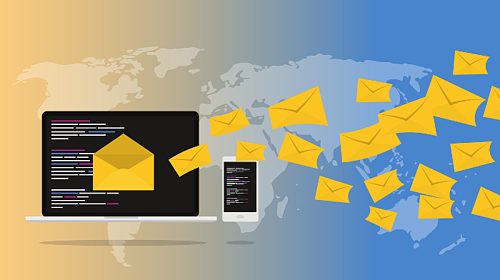 Emailed current awareness newsletters engaging with a global audience