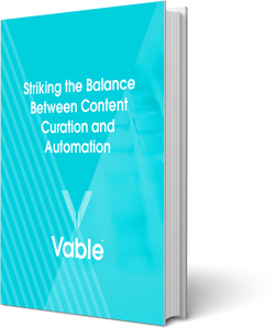 Striking the balance between content curation and automation