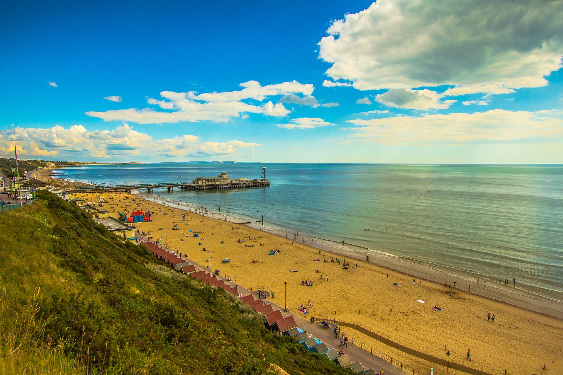 View of Bournemouth seafront from BIALL 2019